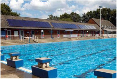 Zwembad opwarmen met zonnecollectoren thermische zonne for Zwembad verwarmen